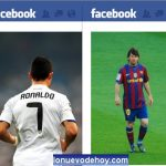 Cristiano Ronaldo vs.  Leo Messi ¿cuál es más popular en Facebook?