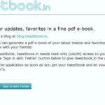 Exportar tus tweets en pdf con tweetbook