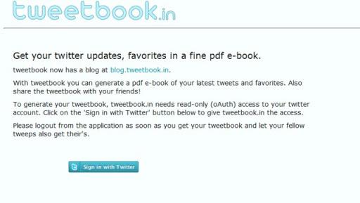 tweetbook