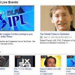 Ya se pueden ver programas en vivo en YouTube