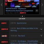 Aplicación de ESPN para Android