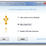 Evitar que la memoria USB se infecte de virus con USB Disks Access Manager