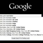 Google ya muestra direcciones en las sugerencias de búsqueda