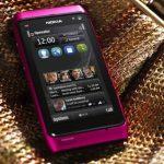 Nokia N8 en color rosado