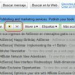 ¿Para que sirve el + y – en Gmail?