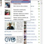 Desconectarse del chat de Facebook