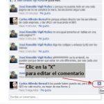 Cómo editar los comentarios en Facebook