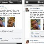 Google+ plus para iPhone