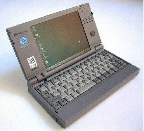 la primera laptop
