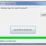Convertir de pdf a texto con Free PDF To Text Converter
