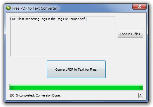 Free PDF To Text Converter