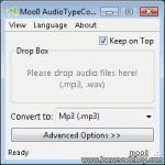 AudioTypeConverter – Programa gratis para convertir archivos de audio