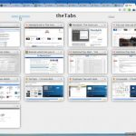 Ver en miniatura las pestañas abiertas en Chrome con theTabs