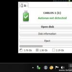 Borrar el virus Autorun.inf de nuestras USB con Antirun