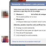 Como bloquear o reportar a una persona en facebook