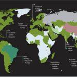 Países a nivel mundial donde facebook es más popular