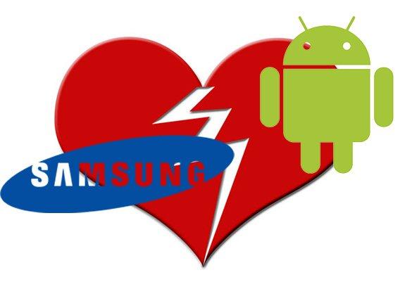 Samsung abandona a Android
