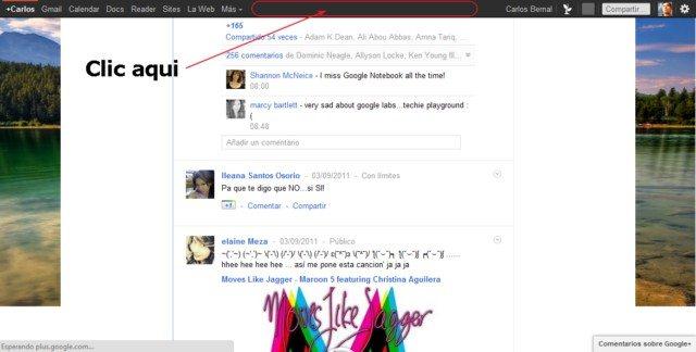 Cómo subir en Google plus