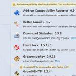 Volver a mostrar las extensiones en Firefox 7 con Add-on Recovery Tool