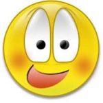 Cara de sonrojado/a para Facebook