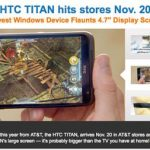 HTC Titan llega con AT&T