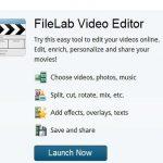Editar videos online con videoeditor filelab