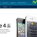 España: iphone 4s con Movistar