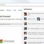 Extensión de Google plus para Chrome