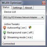 Mejorar la velocidad Wifi con WLAN Optimizer