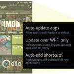 Actualizaciones de aplicaciones Android automáticas