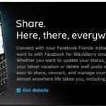 Descargar la aplicación de Facebook para BlackBerry