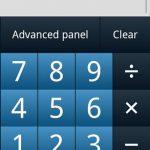 eCalc, Útil calculadora para Android