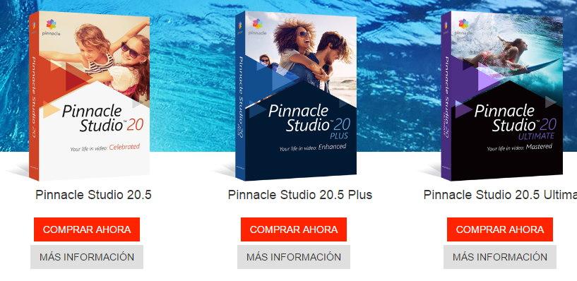 Pinnacle Studio descargar