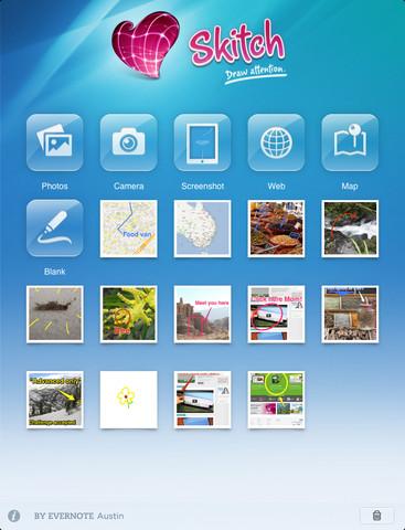 Descargar Skitch para iPad gratis