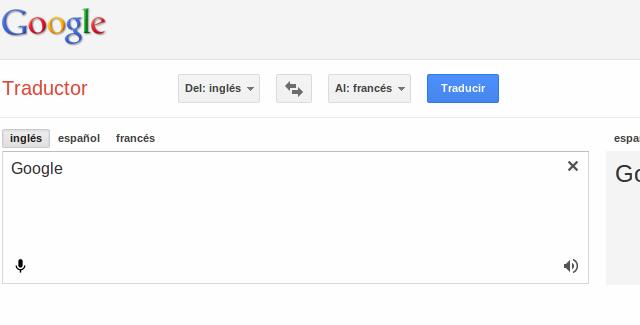 Cómo se pronuncia «Google »