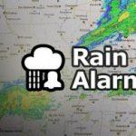 Rain Alarm recibe alertas sobre lluvias en tu móvil Android