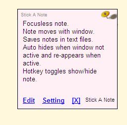 Stick A Note
