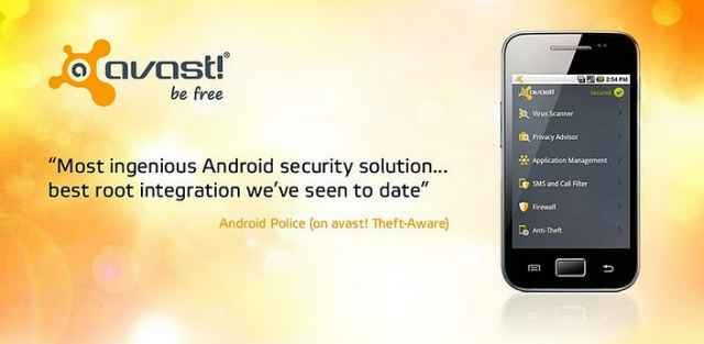 Avast para Android gratis