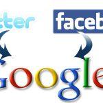 Google, Twitter y Facebook Cerraran sus sitios