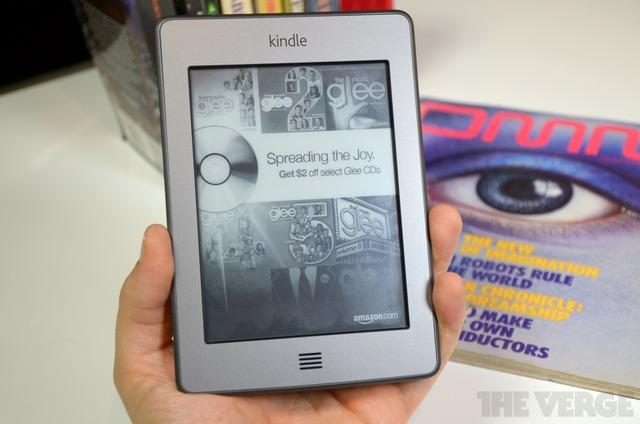 Kindle touch Landscape mode
