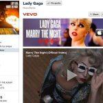 Lady Gaga la segunda artista mas popular en Facebook