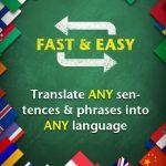 Traducir frases con iHandy Translator para iOS