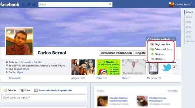 c mo cambiar portada en facebook lo nuevo de hoy