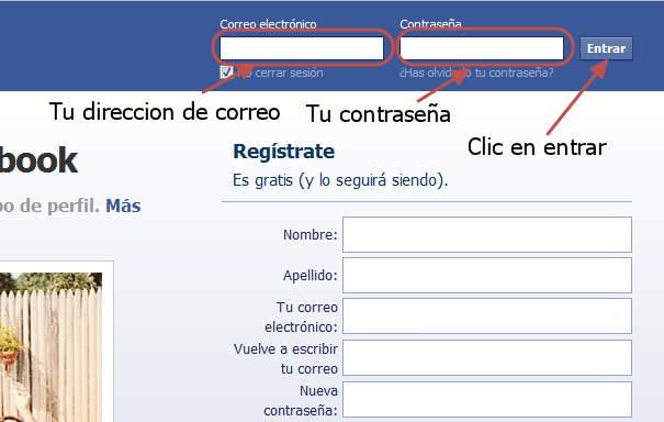 Entrar a Facebook