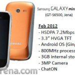 Samsung Galaxy Mini 2, Primeras características