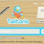 Crear un diario de los Tweets con twitario