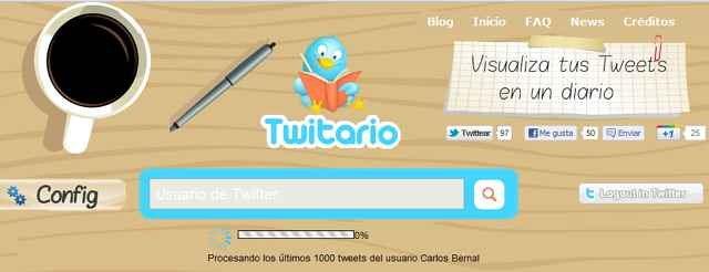 Crear un diario de tus Tweets