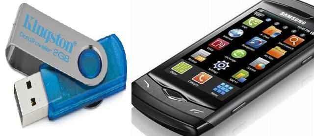USB al tener el celular cerca