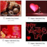 Enviar postales de amor en Facebook
