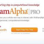 Wolfram Alpha Pro ya disponible